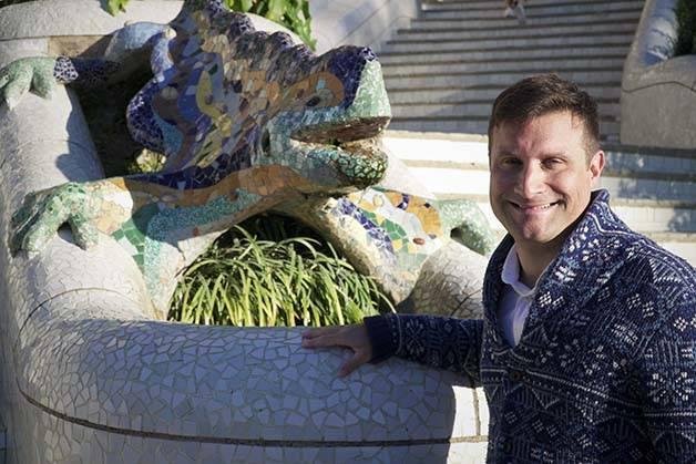 Visitas guiadas del Parc Güell: visita con José