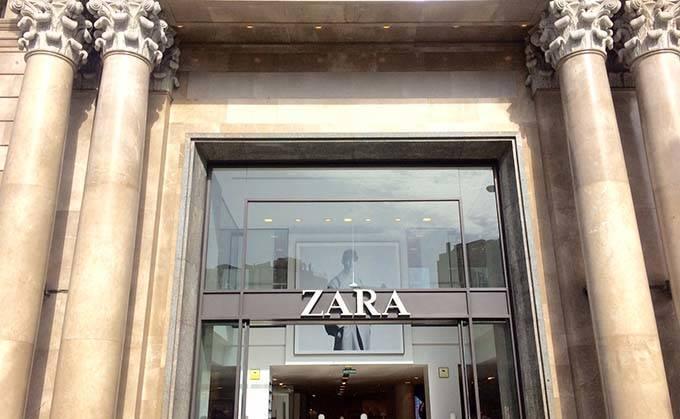Zara en Barcelona