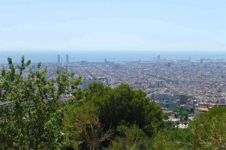 Barcelona en grupo vista