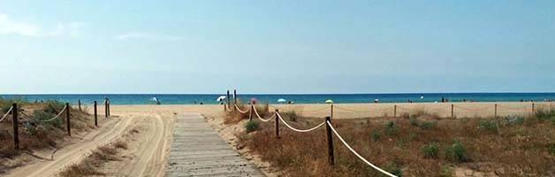 playa castelldefels