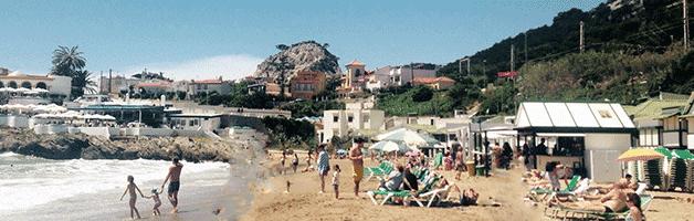 playas cerca de Barcelona: Garraf