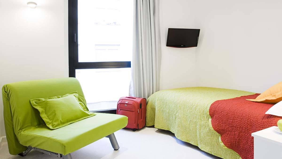 Live and Dream: habitación verde