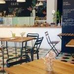 Interior del SweetOphelia Café