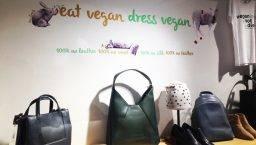 amapola dress vegan bolsos