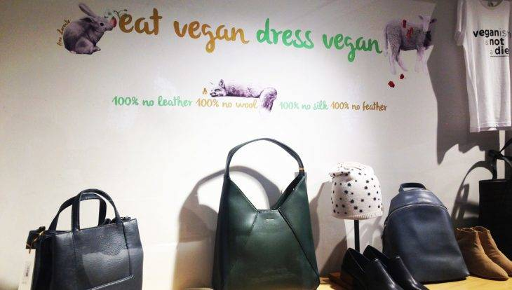 amapola dress vegan bolsos