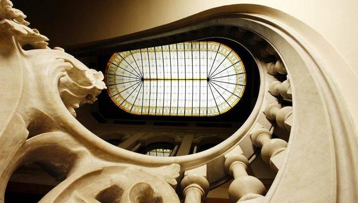 Fundación Mapfre Barcelona escalera
