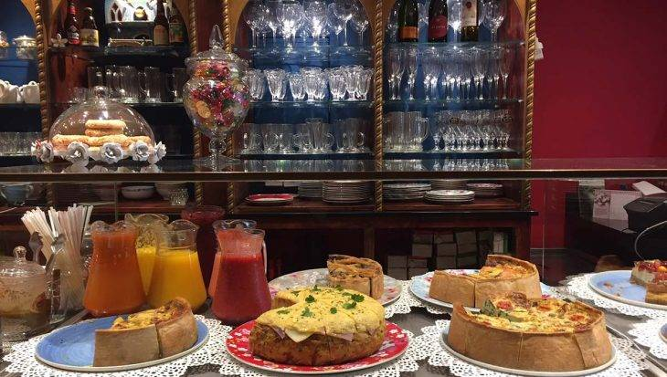cafetería harry potter quiches