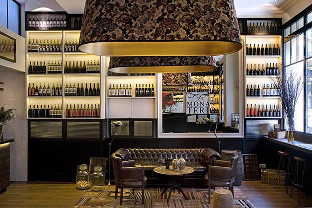 Hoteles en Barcelona: praktik vinoteca