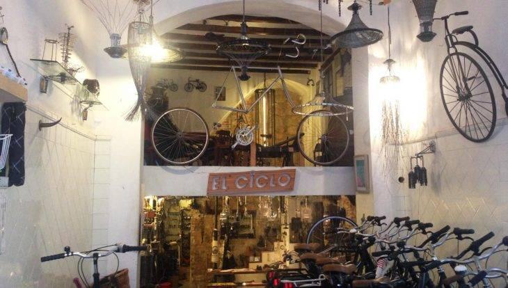 street art tour en bicicleta, tienda