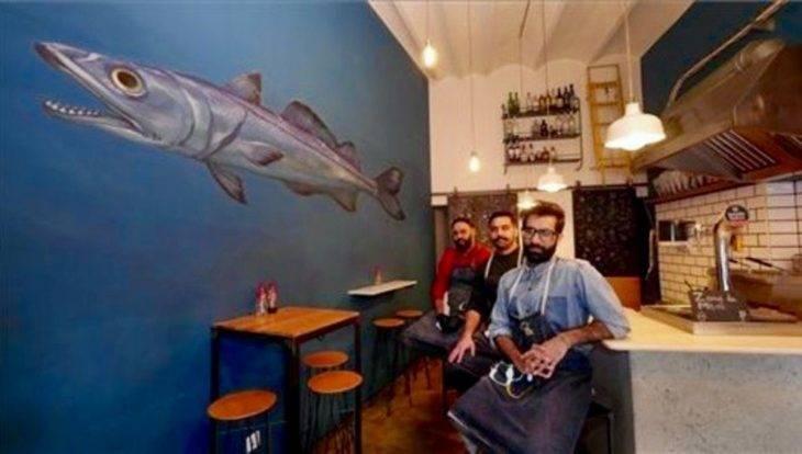 The Fish&chips Shop: en equipo en el local