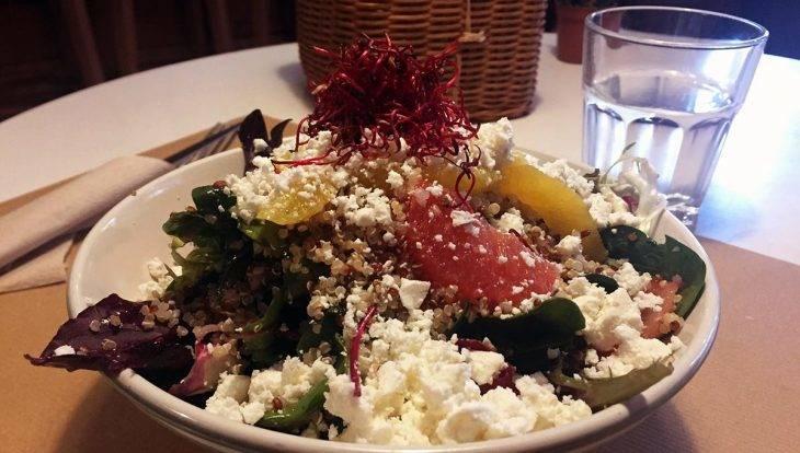 mostassa ensalada de quinoa