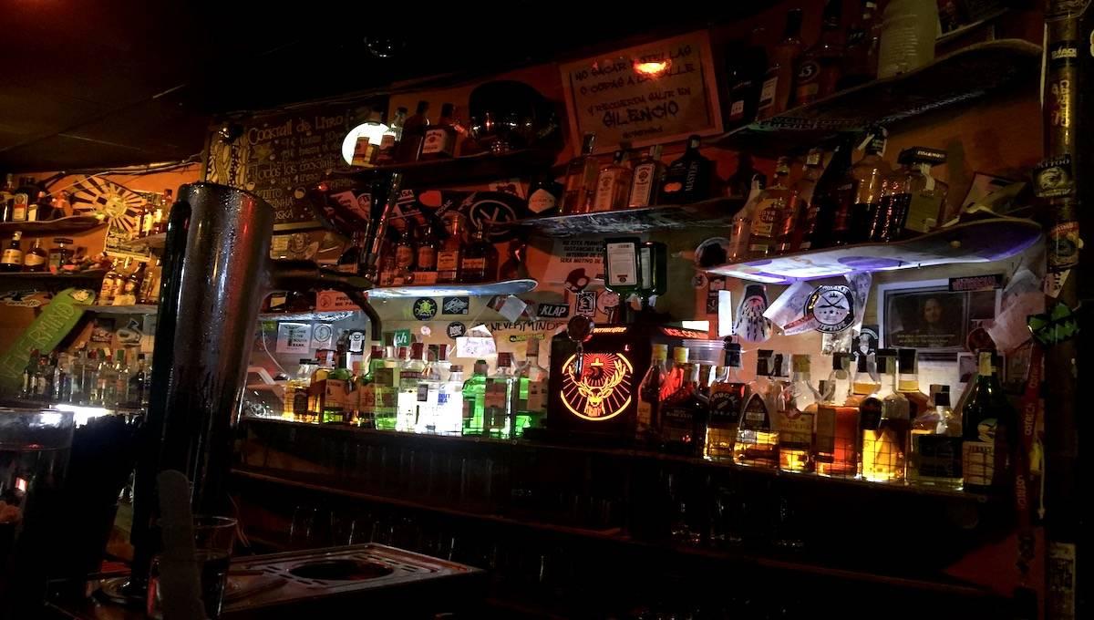 cocktails: bar du Nevermind