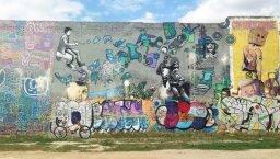 street art tour en bicicleta