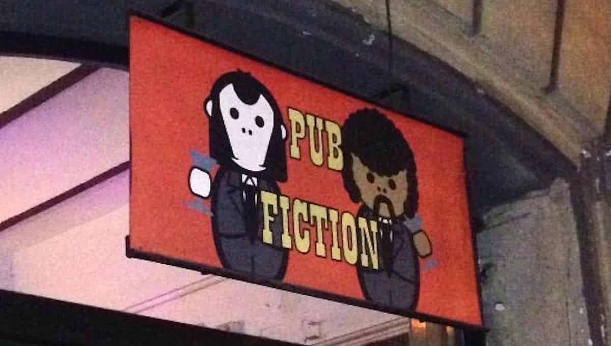 mejores bares Pub Fiction