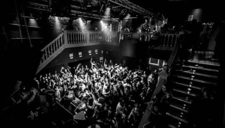 Sala The Side UP discoteca de música electrónica