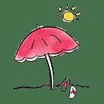 dessin parasol