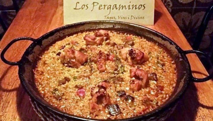 Los Pergaminos restaurante romántico