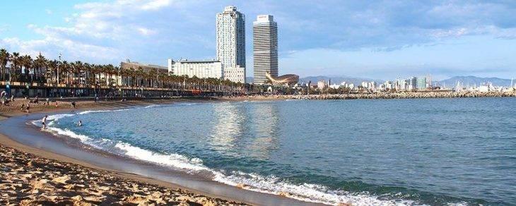 festivos en Barcelona, playa