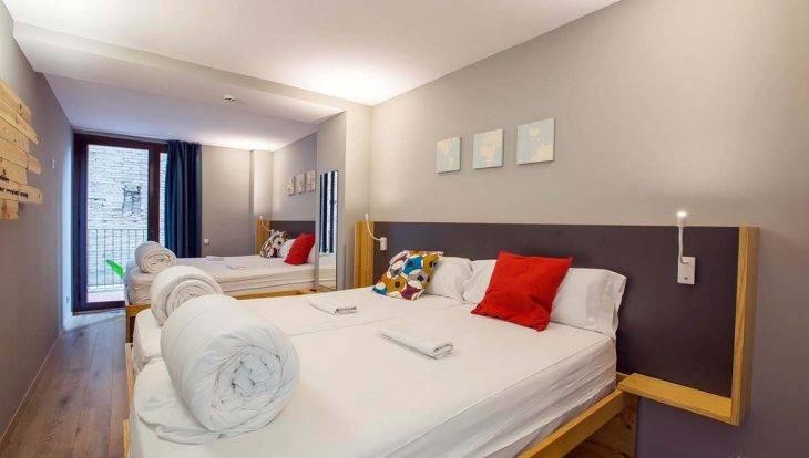 yeah hostel: habitación privada de 4