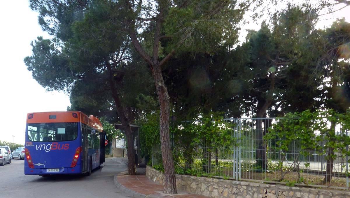 camping Barcelona autobús al centro de Barcelona