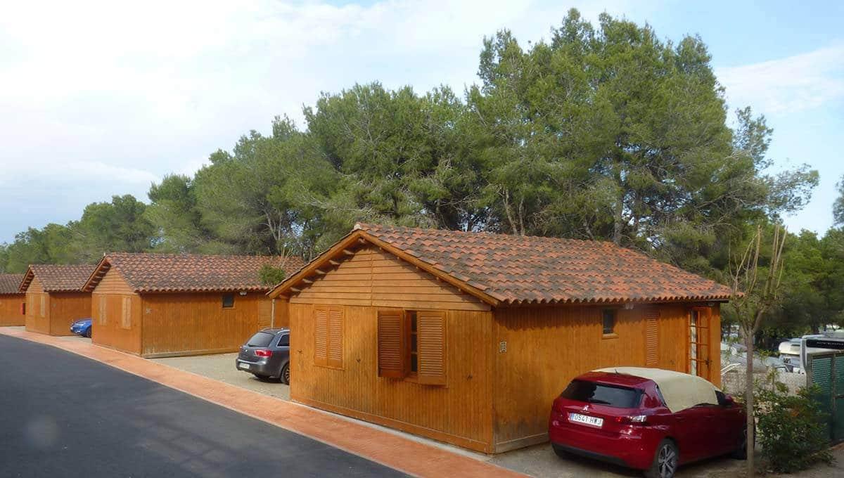 camping Barcelona: Vilanova park bungalows