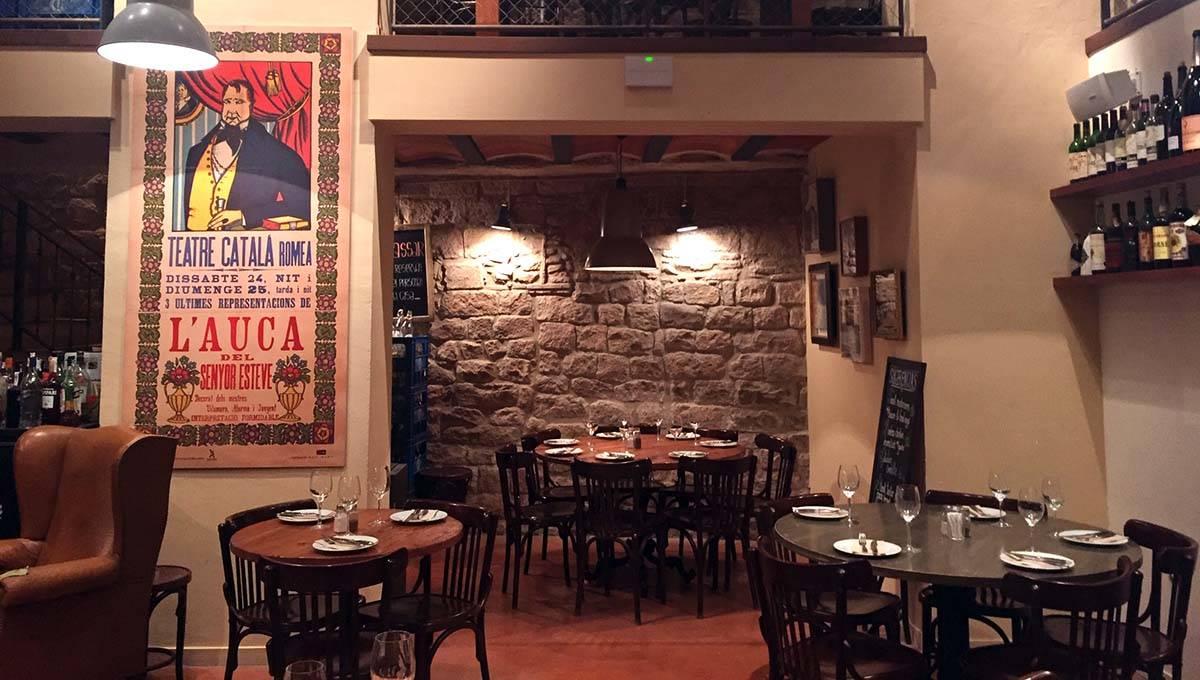 salle de la Bodega la Puntual