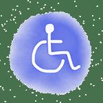dessin logo handicap