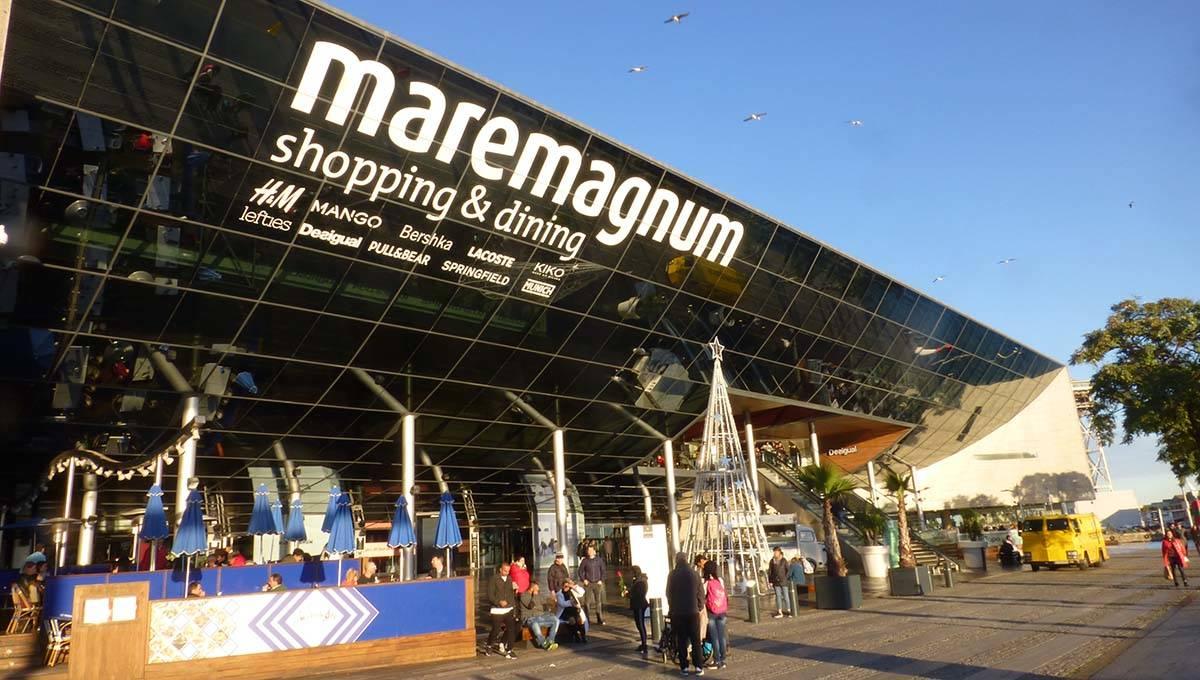 maremagnum vista desde el exterior