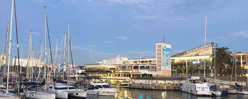 Maremagnum: un centro comercial con vistas al mar y al puerto de Barcelona