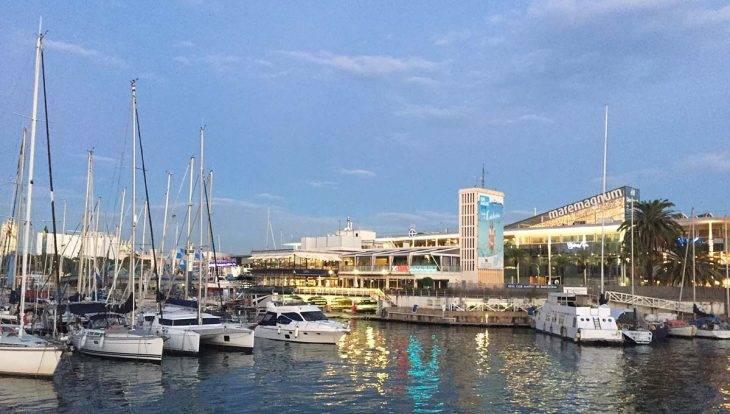 maremagnum puerto