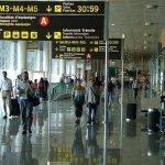vuelo a barcelona, aeropuerto