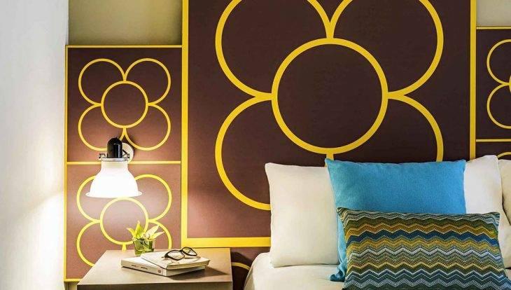 habitación con decoración de baldosa barcelona hotel ibis style centre