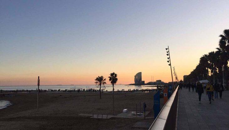 playa barcelona hotel vela